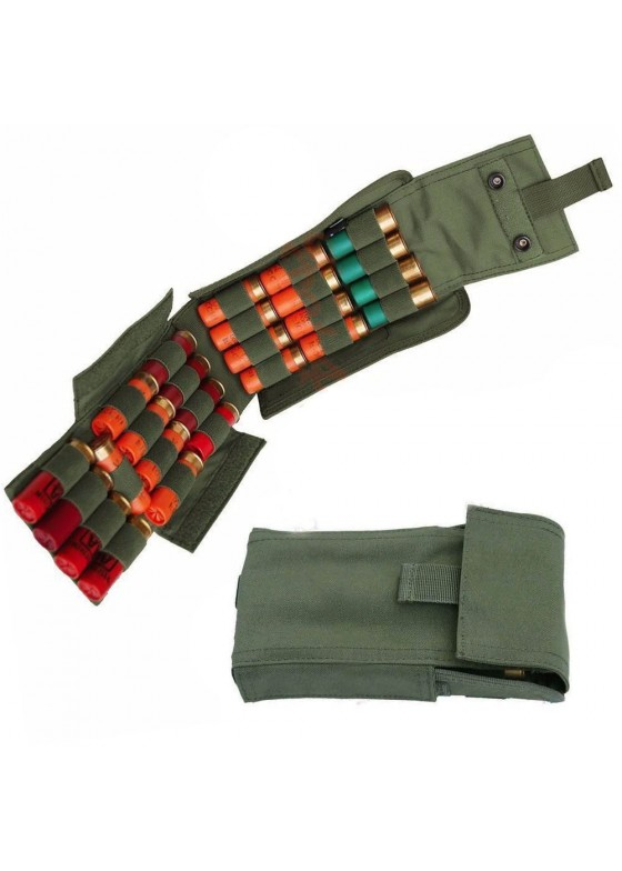 Tactical Shotgun Bullet Pouch Can Be Fill In 25pcs Bullet Bag