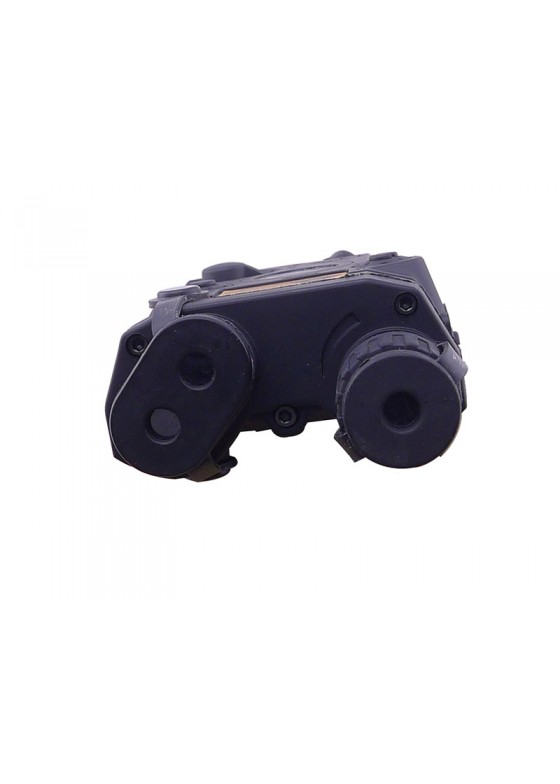 Tactical AN PEQ 16 style plastic battery box black battery holder
