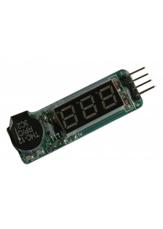 7.4-11.1V Alarm lithium Li-Po low Voltage alarm (F3S003)