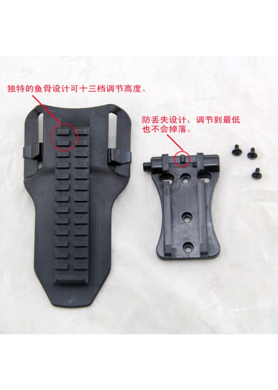 Sniper New version adjustable Belt plank with three kinds of connection panel