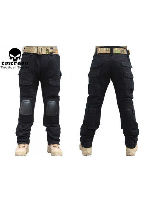 Tactical Combat Pants 2 Generation With Knee Pads Black