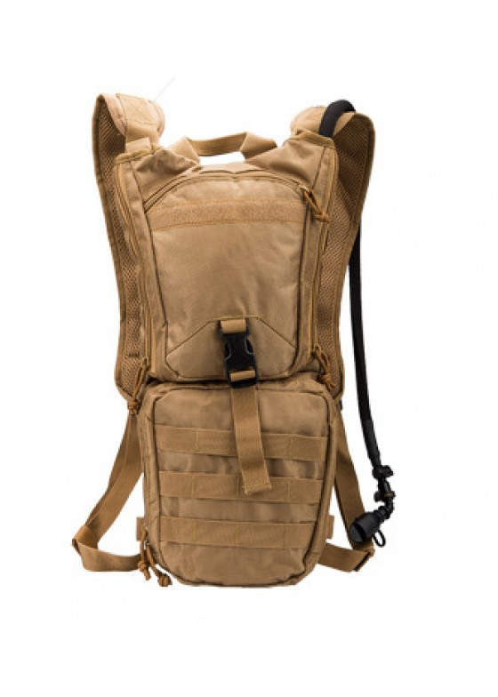 Military Tactical Outdoor Cycling Water Bag Molle Canteen Hydration Backpack