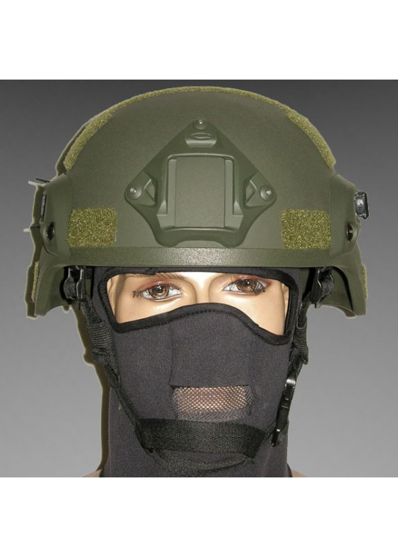 MICH TC-2000 ACH Helmet with NVG Mount & Side Rail Action Version
