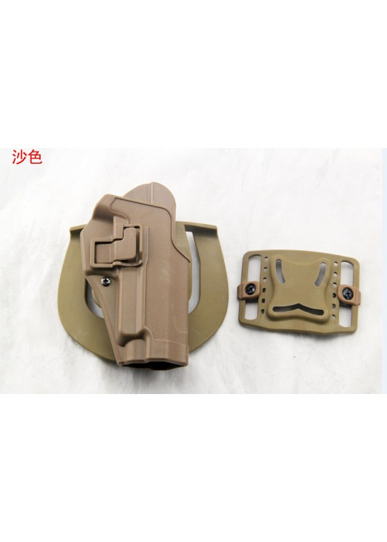 Blackhawk Waist Pistol Holster For P226 Military Single Gun Holster  (Short Style)