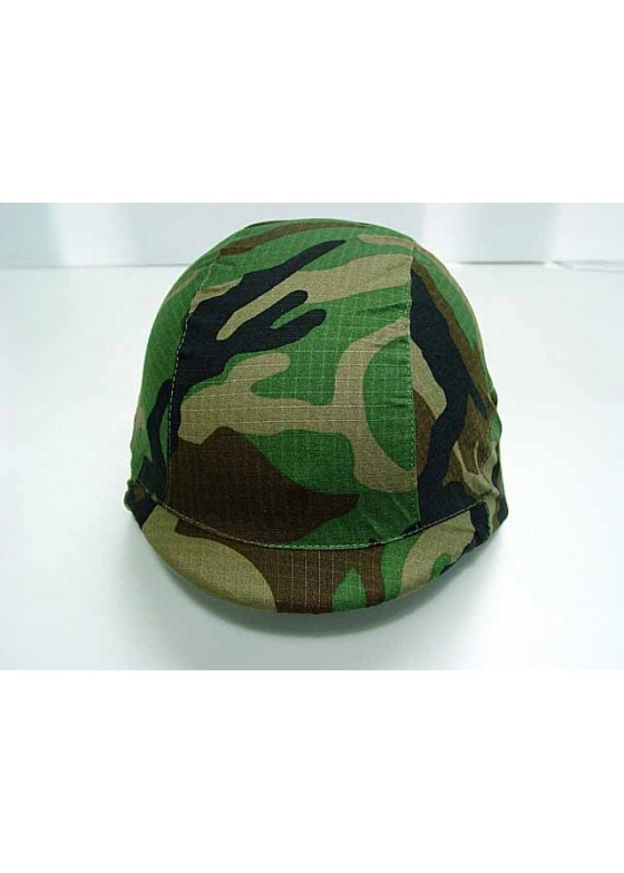 M88 PASGT Tactical Helmet Cover-Woodland Camo