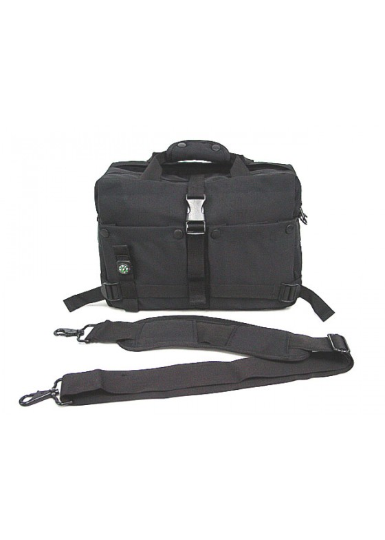 Airsoft Utility Shoulder Camera Bag Case Attach Compass