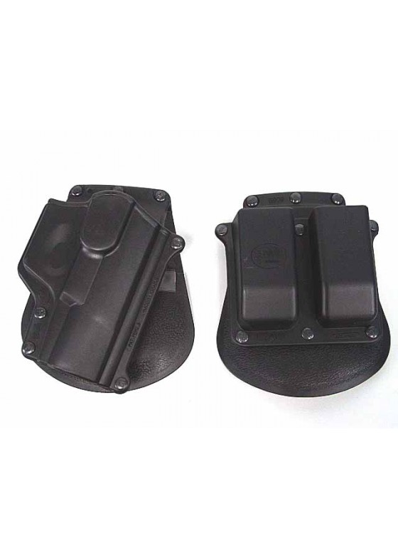 High Quality Walther P99 WA99 RH Pistol & Magazine Paddle Holster