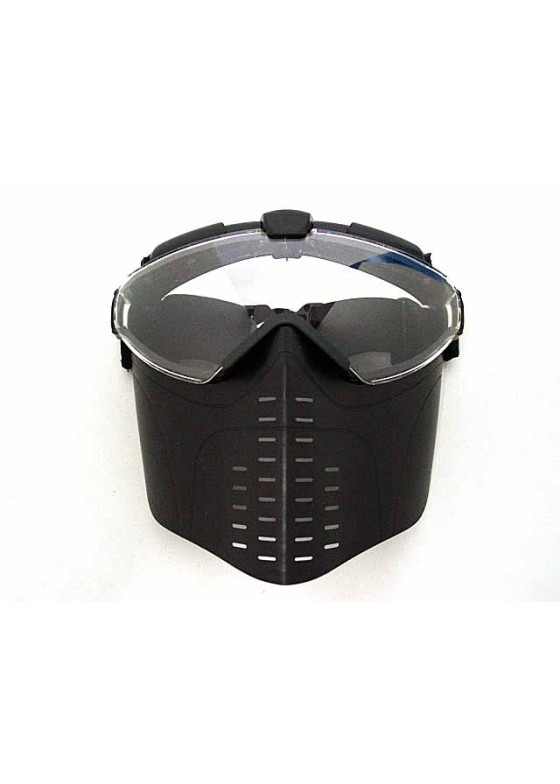 BATTLEAXE Pro-Goggle Full Face Mask With Fan Type A