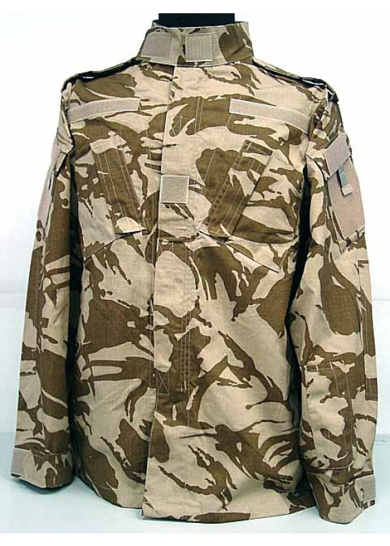 Combat Uniform British Desert Camo