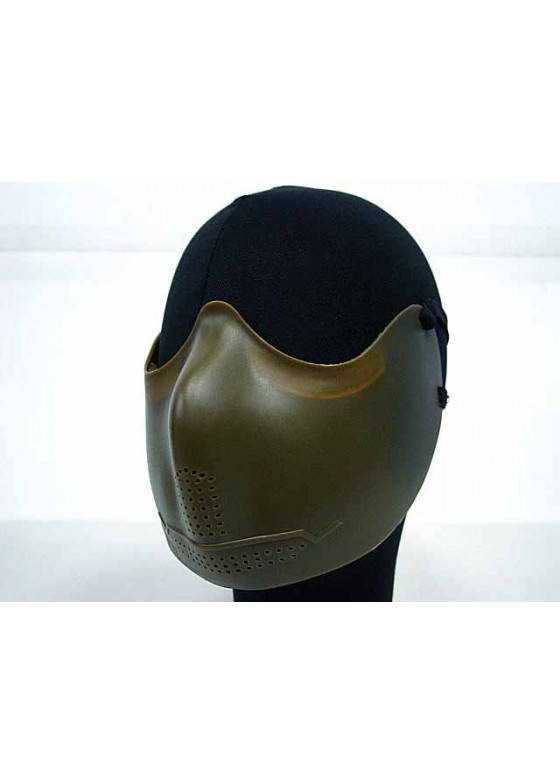 Airsoft X-Eye Half Face Mouth Protector Mask