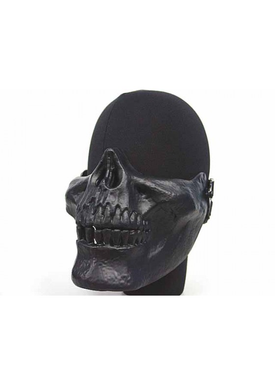Airsoft Skull Skeleton Half Face Protector Mask
