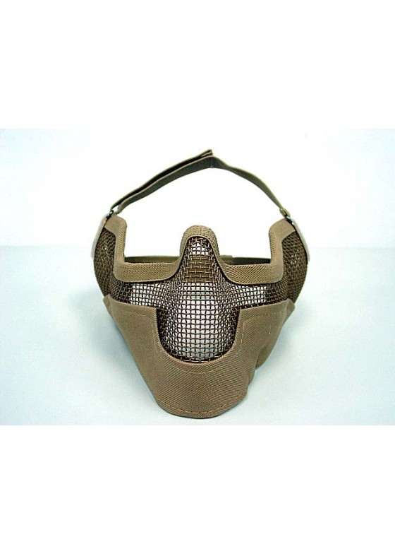 Airsoft New Stalker Style Splinter Reticulated Mask