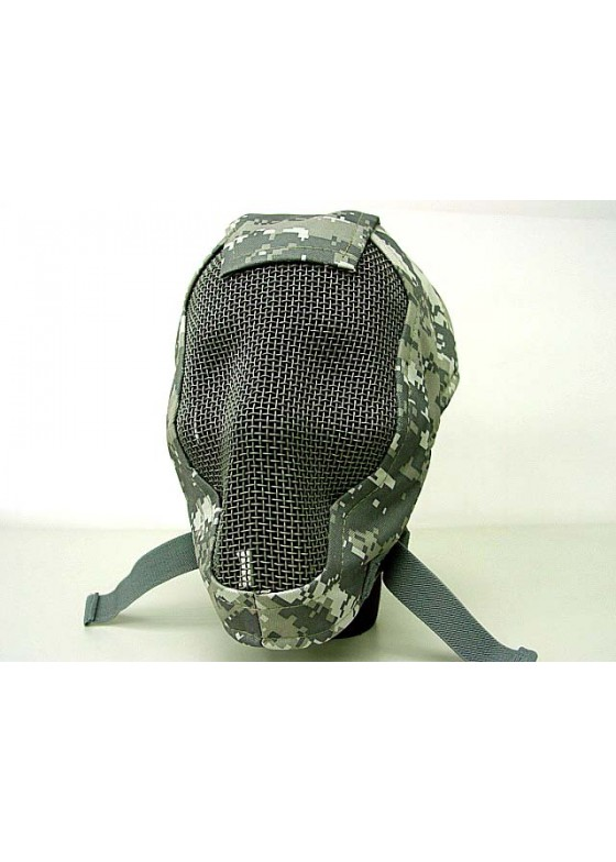Airsoft Praetorian Skull Razor  Reticulated Mask 3