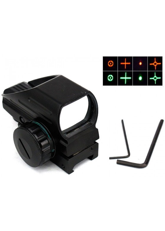 1x22x33 Multi 4 Reticle Red/Green Dot Sight Reflex 103 Type