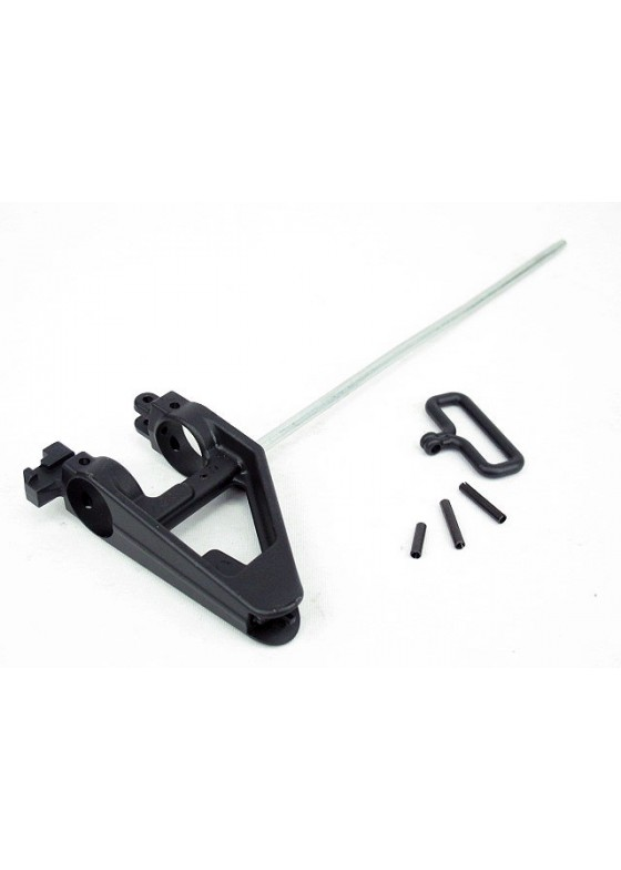 Wolf Slaves Steel BD Triangle Front Sight with Gas Tube for M4/M16