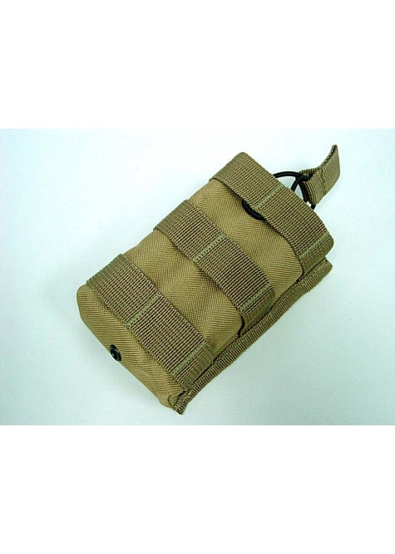 Wolf Slaves Molle Open Top Magazine/Walkie Talkie Pouch