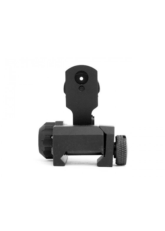 Tactical 5KU MAD BUIS Flip Up Rear Sight (A) for M4/M16 Series