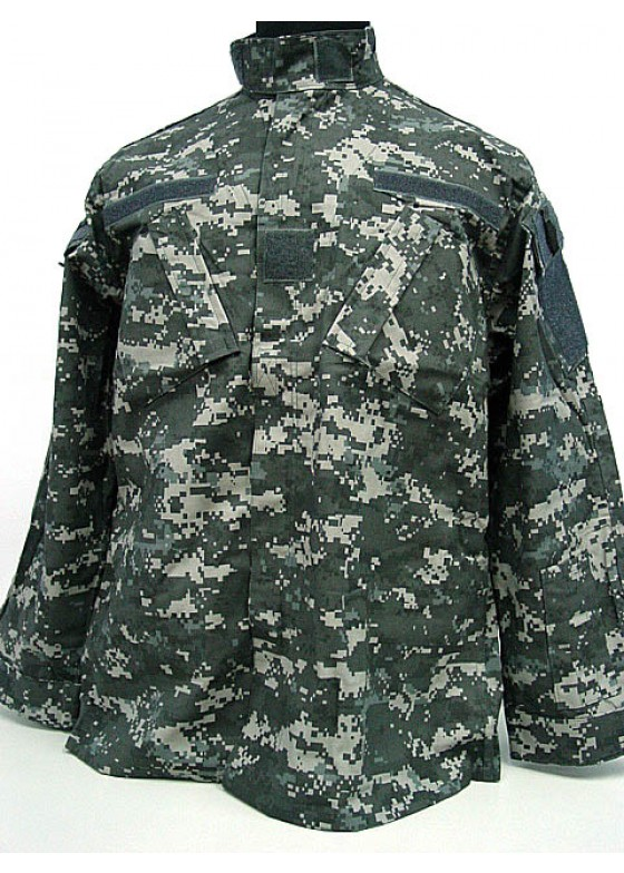 Combat Uniform Digital Urban Camo