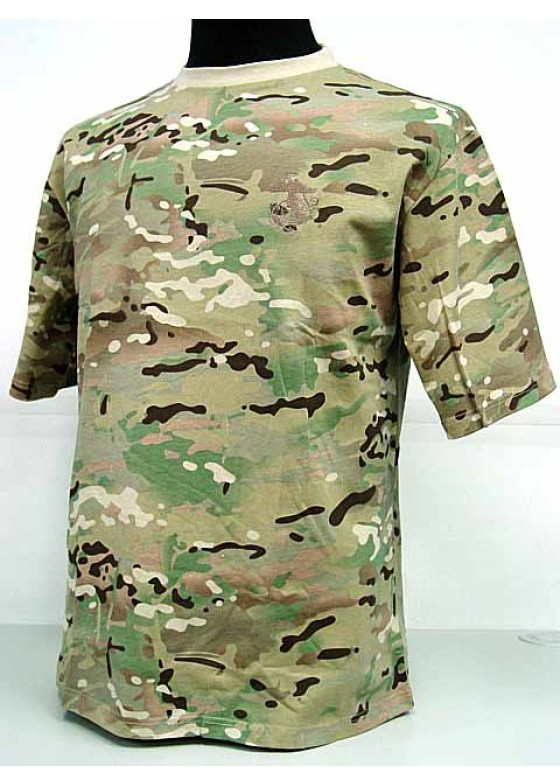 Camouflage Short Sleeve T-Shirt Multi Camo