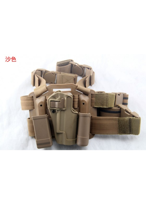 Blackhawk Military Drop Leg Pistol Holster For 1911(Short Style)