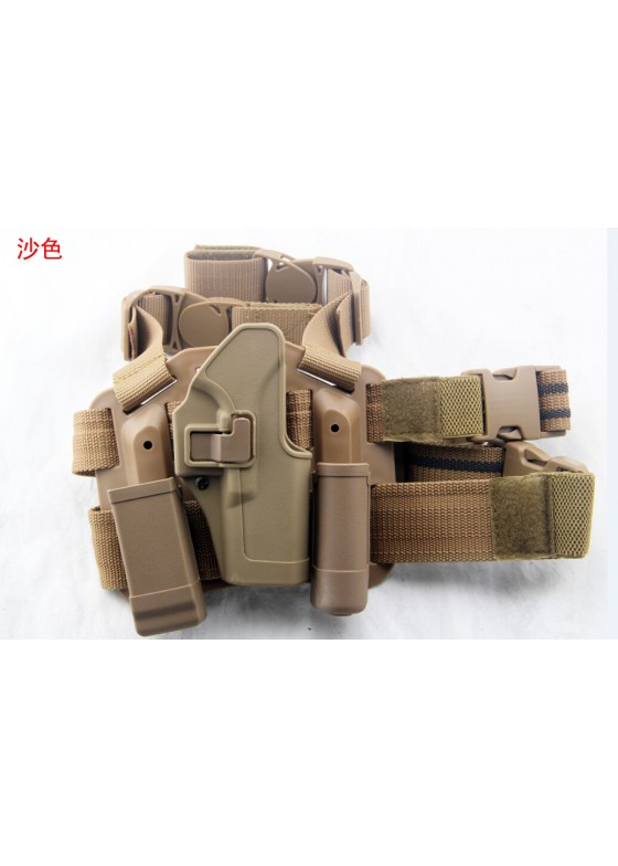 Blackhawk Military Drop Leg Pistol Holster For Glock 17 (Short Style)