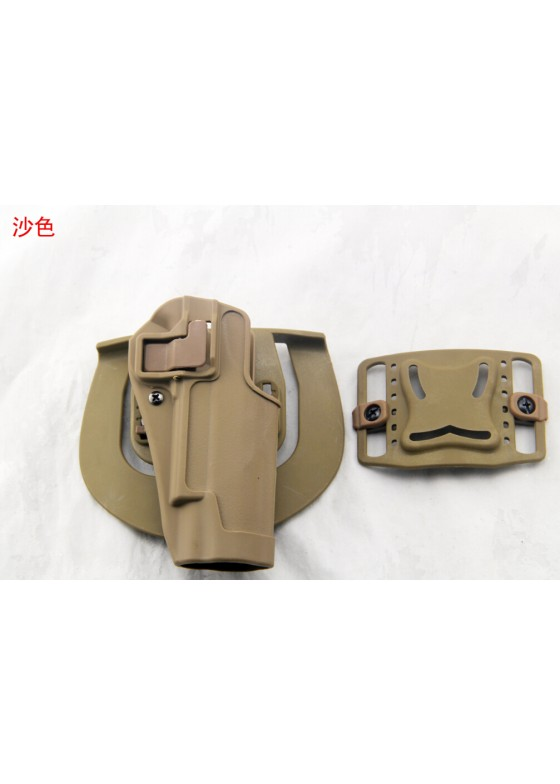 Blackhawk Waist Pistol Holster For 1911 Tactical Single Gun Holster  (Short Style)