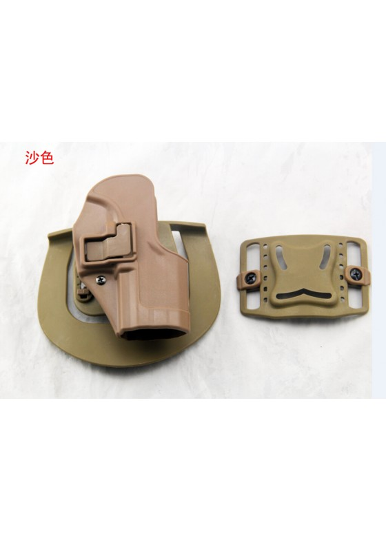 Blackhawk Waist Pistol Holster For USP Military Single Gun Holster  (Short Style)