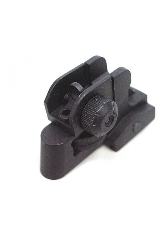 D-Boys Tactical CQB Dual Apertures Rear Sight