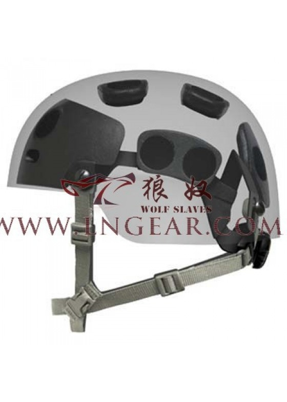 Wolf Slaves Airsoft Tactical FAST Helmet  EVA Suspension System