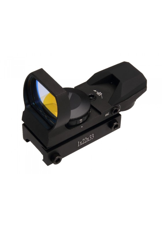 ZOS 1x22x33 Red Dot in Red 4 Reticle With Wide Window HY9034