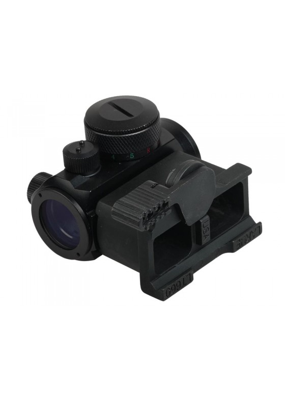 Tactical RifleScope HY9134 Passive Red Dot Collimator Reflex Sight with Adapt Base