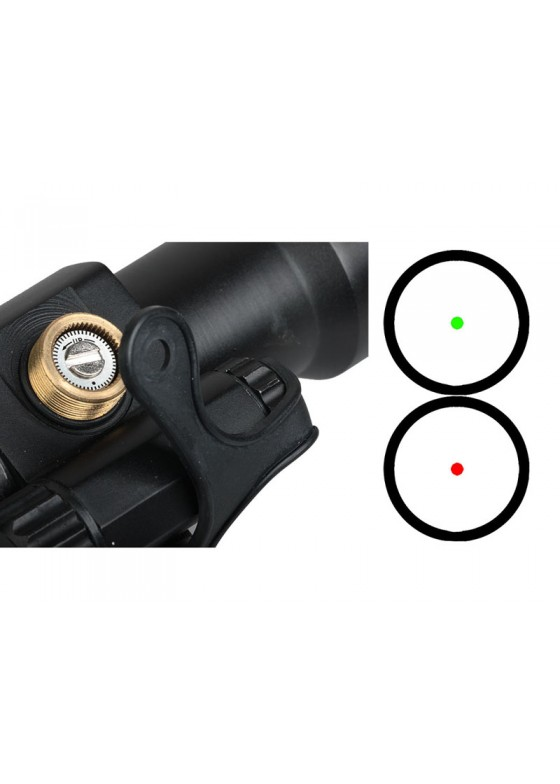 Tactical RifleScope HY9137 Passive Red Dot Collimator Reflex Sight L arm M2 HD-1