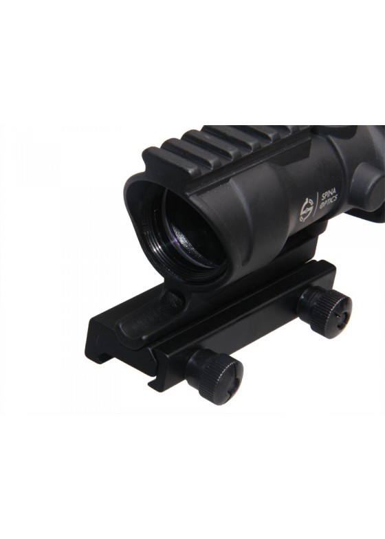 Tactical RifleScope HY9185 SPINA ACOG SCOPE GL 4X32 With Red Fiber & Upper Mount Base