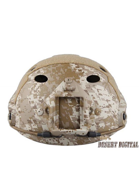 Airsoft FAST Navy PJ Round Hole Tactical Helmet