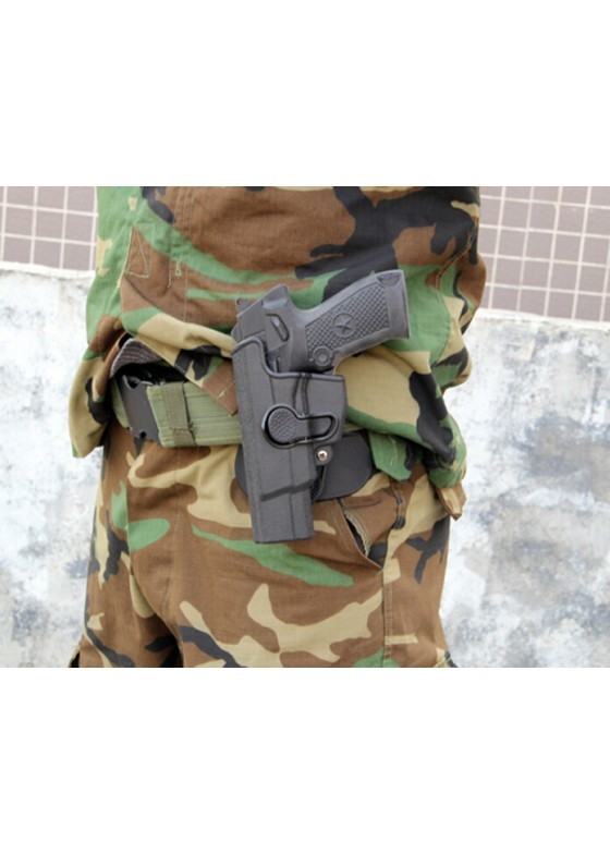 LN92 IMI Rotation Waist Holster For Left Hand (Long Style)