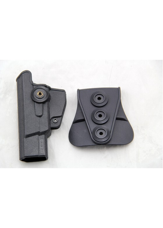 LN92 IMI Rotation Waist Holster For Tactical Pistol Holster (Long Style)
