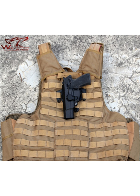 LN 92 Style IMI Rotation Quick Draw Chest Holster For Left Hand