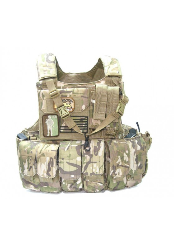 Normal version MAR CIRS Tactical Vest With Map Pouch