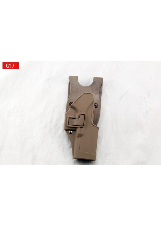 Military Blackhawk Under Layer Waist Gun Holster For Glock 17 Right Hand