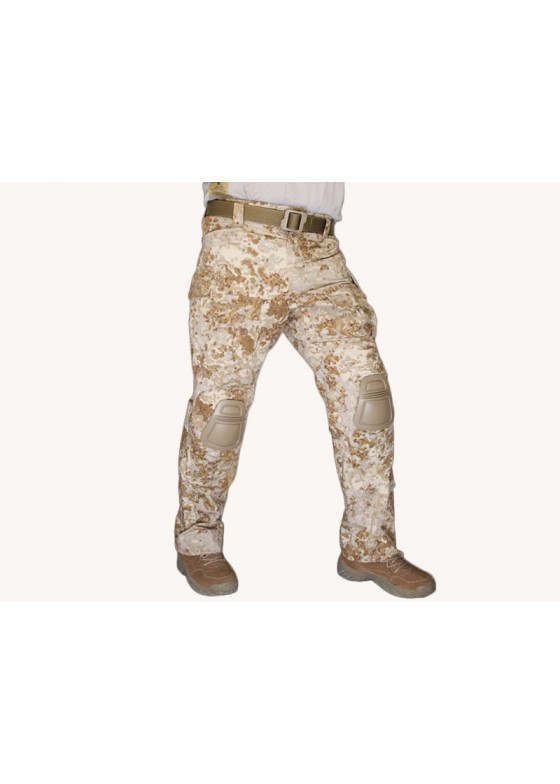 Military Tactical Combat G3 Trousers With Protected Knee Pads