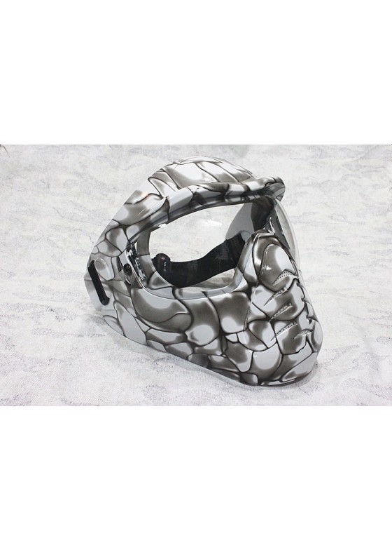 Wolf slaves Tactical MJ-01 Metal mask Kryptek Full Face alien mask