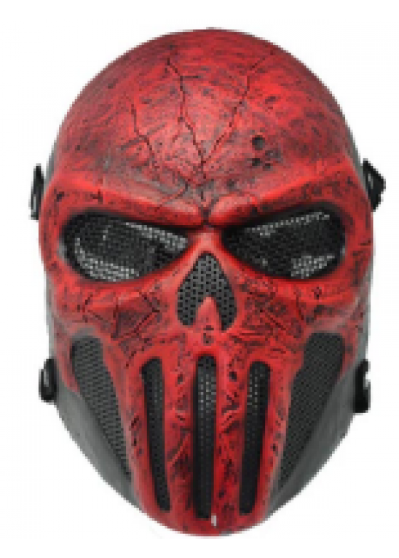 Newest Plastic wire mesh Full face mask Punisher mask