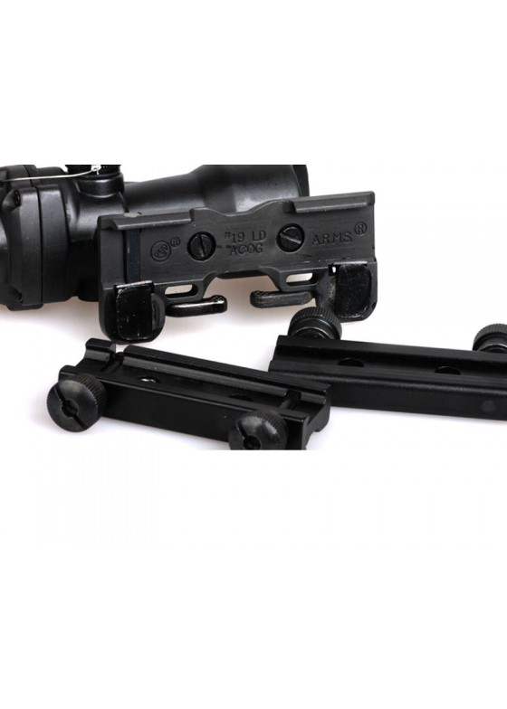 Tactical Rifle Scope HY9075 ACOG GL 4X32B Q With Quick Release Holder