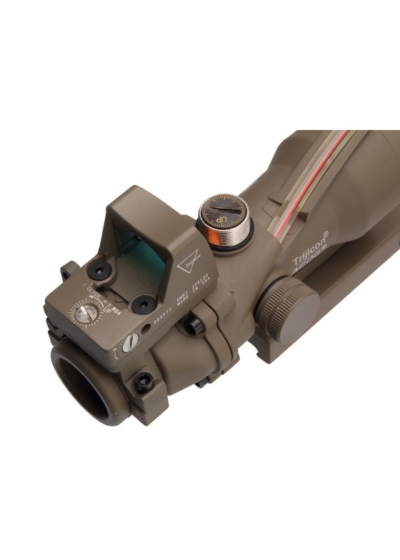 Tactical RifleScope HY9177 ACOG SCOPE GL 4X32 1# With Red False Fiber and Dimming ACOG Type GL 4X32 1
