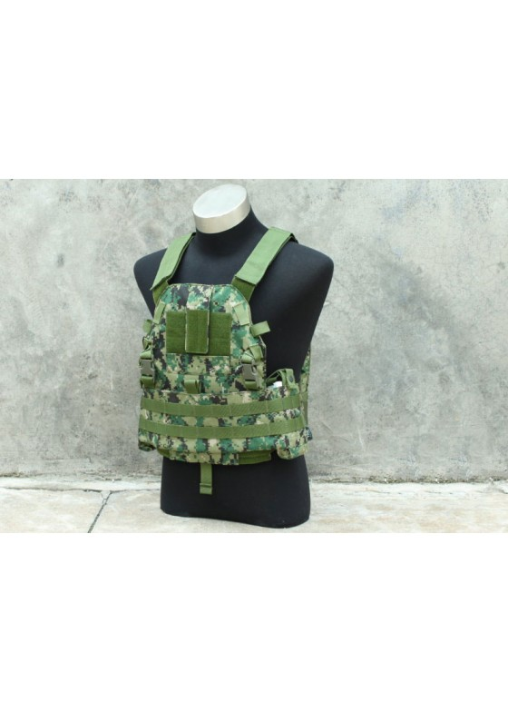 Cordura Tactical Vest  Slick Medium Plate Carrier Combat Vest 6094 Type A