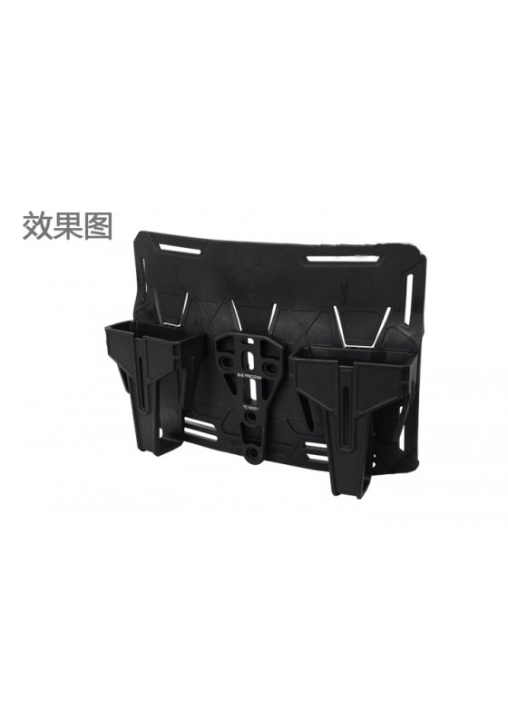 Triple Vest Magazine Pouch 5.56 Style For Airsoft Military Tactical Use