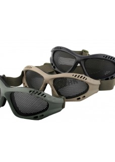 Wolf Slaves 039 Reticularis Goggles Airsoft Paintball No Fog Metal Mesh Goggle Glasses