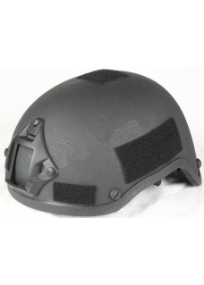MICH 2002 Helmet Action Armed Versions Helmet with Velcro BK
