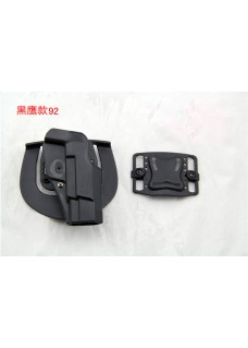 LN92 Blackhawk Waist Gun Holster Without Buckle