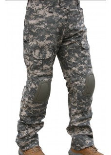 Tactical Combat Pants 2 Generation With Knee Pads Digital ACU Camo